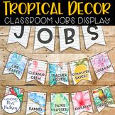 Editable Class Jobs Display (Tropical and Shiplap)