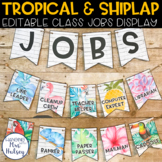 Editable Class Jobs Display (Tropical and Shiplap)