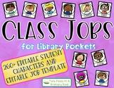 Editable Class Jobs for Library Pockets