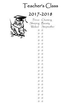 Editable Class List Excel Document!