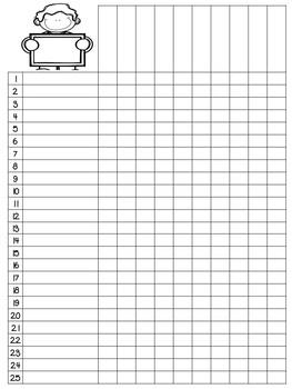 Editable Class List - Kiddos with Signs