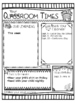 Editable Class Newsletters