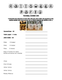 Editable Class Party Sign-Ups for the Whole Year
