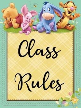 Editable Class Rules
