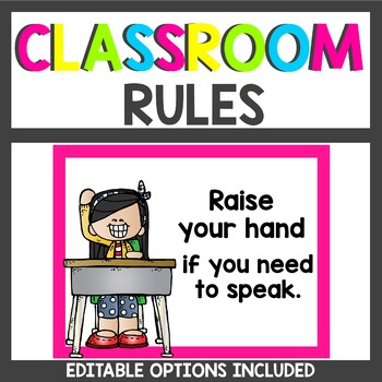 Editable Class Rules Brights