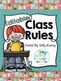 Editable Class Rules Set