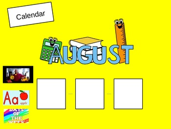 Editable Class Schedule PowerPoint Slides