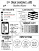 Editable Class Syllabus Template: Back to School Night, Class Information, etc.