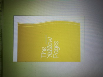 Editable Class Yellow Pages
