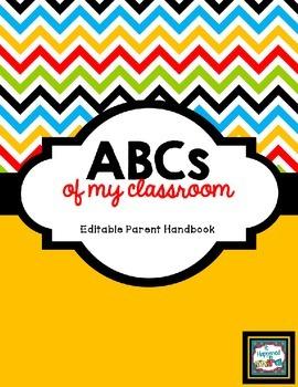BACK TO SCHOOL: Editable Classroom ABCs