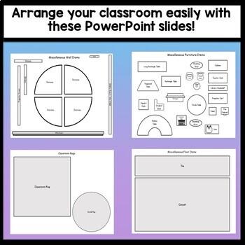 Editable Classroom Arrangement {Easily Move Furniture!} {Editable Seating Chart}