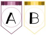 Editable Classroom Banner Bulletin Board or Classroom Decorations