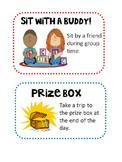 Editable Classroom Coupon Posters & Handouts