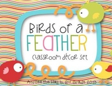 Editable Classroom Decor Pack {Birds of a Feather}