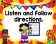 Classroom Rules- Circus Theme
