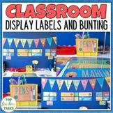 Classroom Decor | Bright and Vivid Dot Dudes