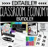 Editable Classroom Economy Bundle