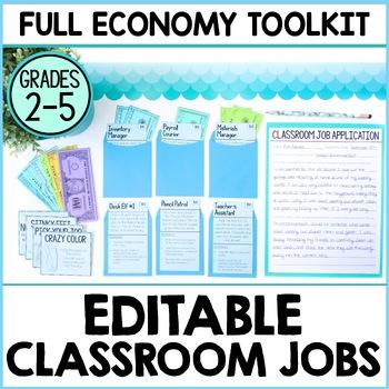 Editable Classroom Economy Toolkit