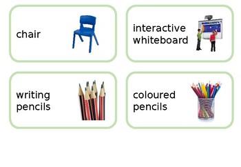Editable - Classroom Furniture Labels