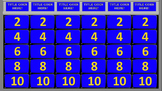 Editable Classroom Jeopardy GAME!