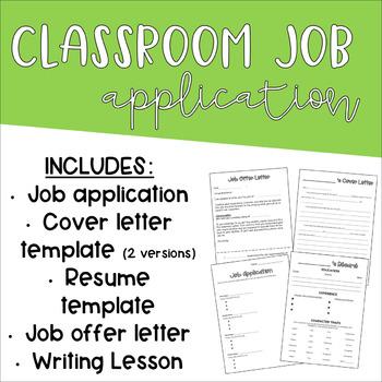 Job Applications Template from ecdn.teacherspayteachers.com