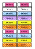 Editable Classroom Job Names