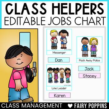 Class Jobs - Editable Jobs Chart & Name Labels