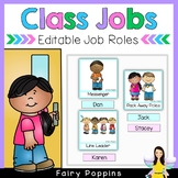 Class Jobs - Editable Jobs Chart & Name Labels
