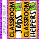 Editable Classroom Jobs Display