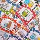 Editable Classroom Jobs Helpers - Owls Bright Multicolored Polka Dots - 33 cards