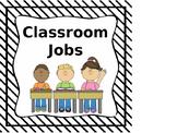 Editable Classroom Jobs or Helpers