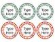 Editable Classroom Labels *Boho Theme