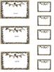 Editable Classroom Labels {Burlap & Fleur de Lis}