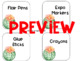 Editable Classroom Labels - Cactus Themed