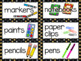 Star themed Classroom Labels - Editable - Star Borders with pictures