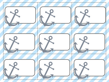 Editable Classroom Labels and Name Tags