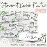 Editable Classroom Labels and Student Desk Plates   Botani
