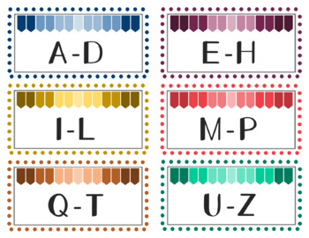 Editable Classroom Labels for Organization - Book Box / Classroom Library Labels