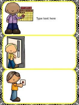 Editable Classroom Management Freebie!