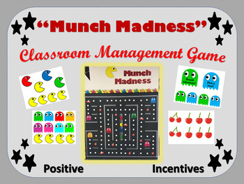 EDITABLE Classroom Management Game - Munch Madness