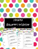 Editable Classroom Newsletter Monthly and Weekly