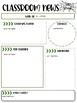 Editable Classroom Newsletters