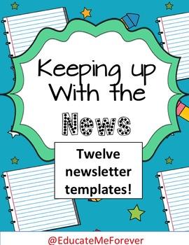 Editable Classroom Newsletters K-4!