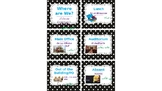 """Editable Classroom/Office Door """"Where Are We?"""" Cards"""