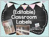 {Editable} Classroom Organization Labels