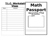 Editable Classroom Passport for Workstations