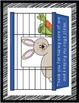 Editable Classroom Pet Packet ~ Rabbit with Scribble Black Border