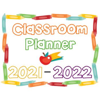Editable Classroom Planner