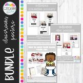 Editable Classroom Posters Farmhouse