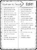 Editable Classroom Routines Checklist FREEBIE